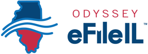 Logo for Odyssey eFile Illinois